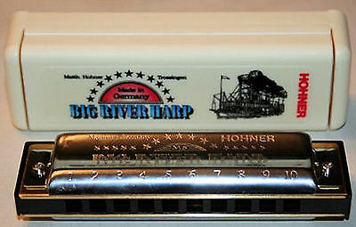 Hohner Big River Harp Harmonica In The key C.