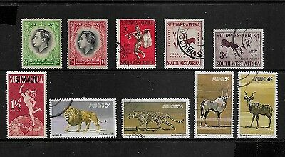 SOUTH WEST AFRICA - mixed collection, pre-decimal & decimal