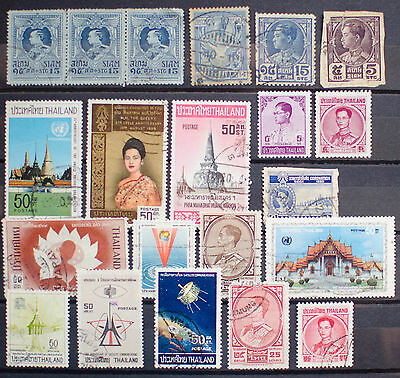 Collection of Stamps from Thailand