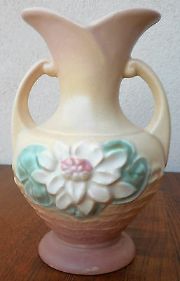 Hull Pottery Water Lily Pink Vase, Great Shape!