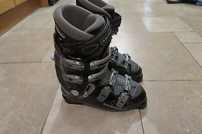 Salomon Ski Boots. size UK 9.5 /10, ES10, EU 33, Evolution 9.0, black