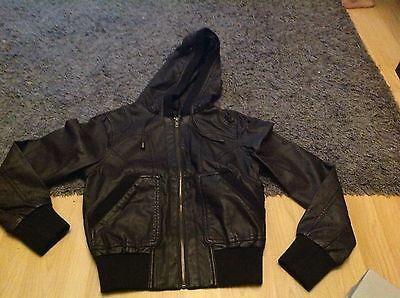 new look faux leather jacket