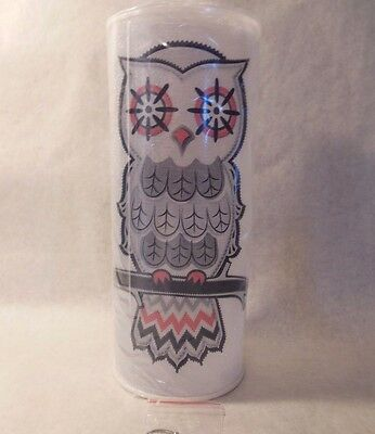 """Owl Lighted Hanging 12"""" LED Color Changing Lantern Halloween NEW Gift"""