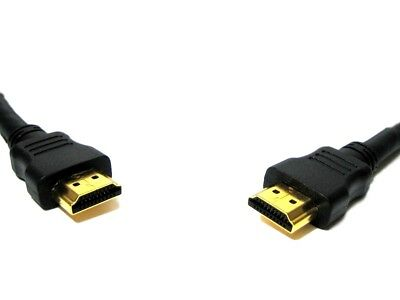 1-5m Premium Gold HDMI High Speed Video Cable for LCD HDTV 3D PS3 Xbox 360 SKY