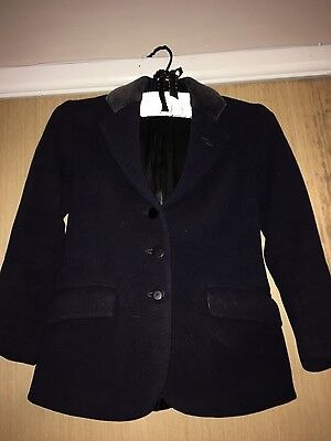 foxley navy show jacket size 22/24