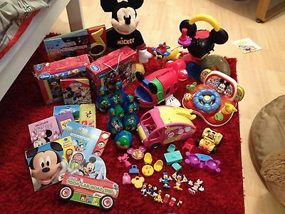 Mickey Mouse Clubhouse Toys And Book Bundle Disney