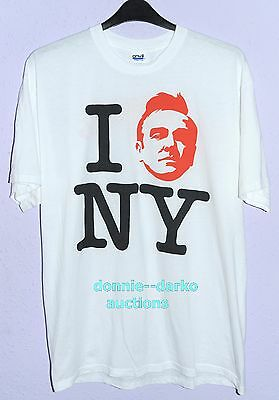 Rare Morrissey *i Moz Ny* 2009 New York T Shirt (Xl) The Smiths Cure Emo Punk