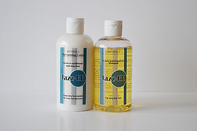 Detangling Jazz-EE Shampoo and Leave in Conditioner set for curly hair
