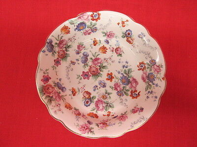 "Dorset Cheery Chintz Erphila Germany Small bowls 5 3/4"" - set of 4"