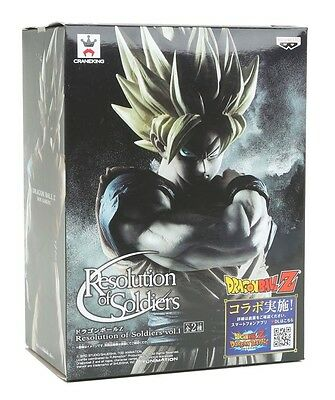Banpresto DRAGONBALL Z SON GOKU Figure Statue Resolution of Soldiers Vol. 1