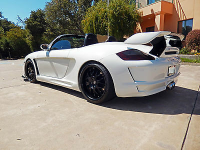 1999 Porsche Boxster Base Convertible 2-Door 986 to 997 Gemballa Avalanche Turbo Style widebody exotic