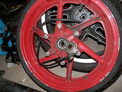 Honda CBR600 Front and Rear Wheels
