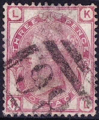 SG143 3d Pale Rose. Plate 15. DINAS MAWDDWY Cancel. Very Fine Example. CAT £80