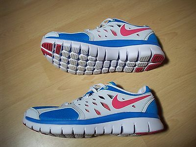 nike womens trainers blue/grey/pink uk size 5,5