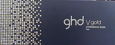 GHD V Gold Max Styler Straightening Iron Limited Edition Wide Plate