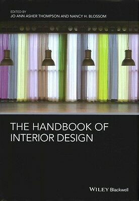 The Handbook of Interior Design by Thompson Hardcover Book (English)