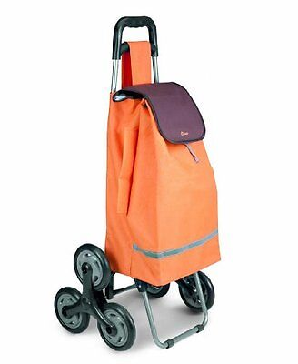 Stair Climbing Shopping Cart Grocery Utility Rolling Laundry Wheels Trolley New