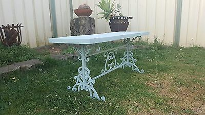 Vintage  iron outdoor garden table