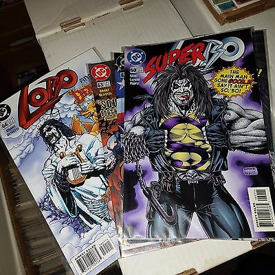 Lobo (1991) Lot - Issue #s 60, 61, 62, 63, 64, Hard to Find Final Issues