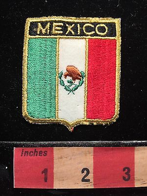 Mexico Collector Patch ~ Flag Themed Shield 68E1