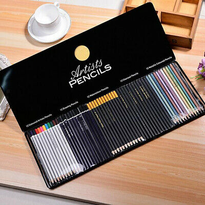 Coloured Pencils for Gift Drawing Professional Non-toxic Pencils 60 Colour