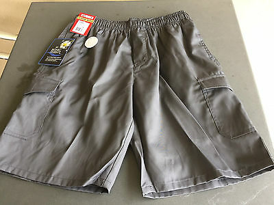 Stubbies Kids' Cargo Shorts - Grey - Size 16