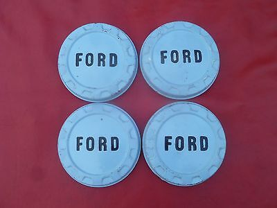 1961 Ford F-100 Dog Dish Poverty Hubcaps Wheel Covers