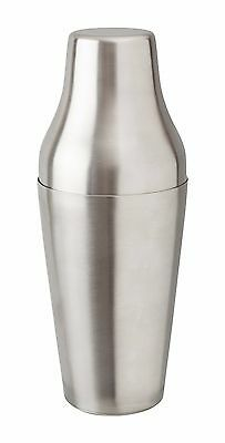 Mezclar Stainless Steel French Two Piece Bartenders Cocktail Shaker 650Ml