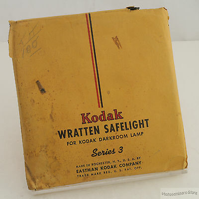 "Kodak Wratten Series 2 Safelight Filter 5½"" Circle (#2353)"