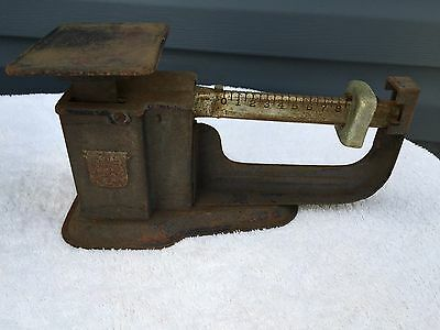 Vintage Triner 9 oz. Balance Sliding Scale, Airmail Scale, Postal Accuracy Scale