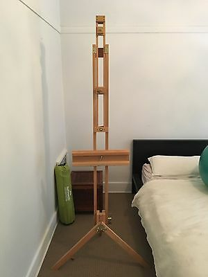 Folding Artist's Easel With Duel Mounting - Top over Bottom