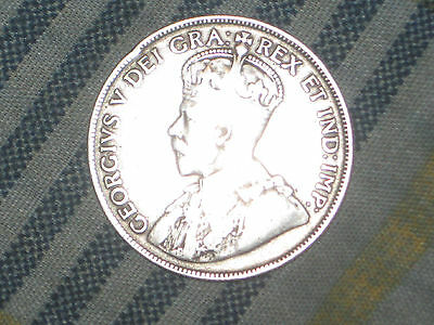 1934 Canada 50 Cent Coin Rare Key Date
