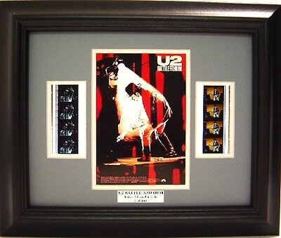U2 Rattle And Hum Framed Film Cell Bono
