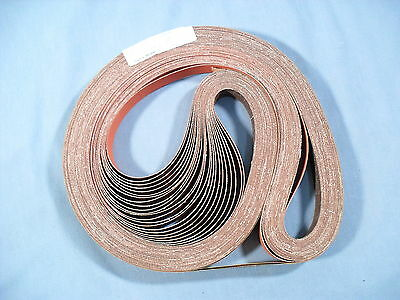 "(25) 3M Sanding Belts 1"" X 72"" in 100XF  Grit 977 F Regalloy Cloth 51119 70994"