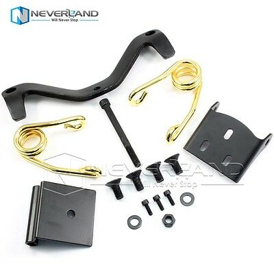 Solo Seat Springs Bracket Mount Kit For All Harley Sportster Dyna 48 72 Golden