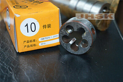 1pcs 16mm x 1.0mm  Metric Right hand Die M16 x 1mm Pitch  superior quality