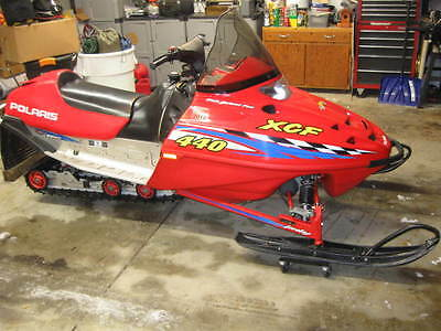 2001 polaris 440 XCF NO RESERVE AUCTION