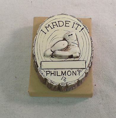 BSA 1970's Philmont Scout Ranch I MADE IT! Clay Wall Plaque I MADE IT