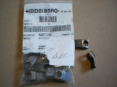 Heidelberg Infeed Grippers  M2.013.025/01  Qty 14