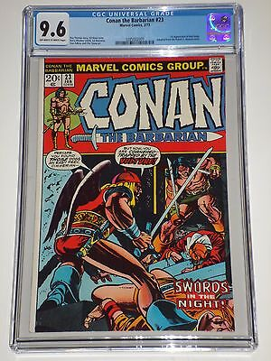 Conan the Barbarian #23 (Feb 1973) CGC Graded 9.6 1st Red Sonja Appearance