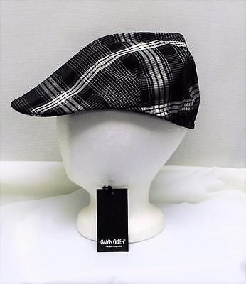 New Mens Galvin Green Samson fitted golf newsboy cap Small