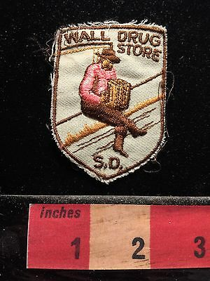 Vintage Wall Drug Store South Dakota Patch (possibly playing accordion?)  69P5