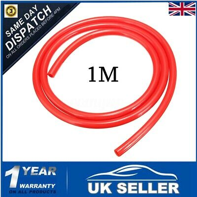 1M Red Motorcycle Fuel Line Petrol Pipe 5mm I/D x 8mm O/D Fuel Hose For Yamaha