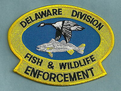Delaware Division Of Fish & Wildlife Police Patch