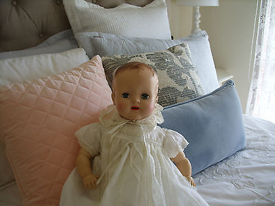 ~~~~~~Georgeous Antique Baby  Doll - Fully Dressed~~~~~~
