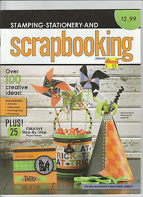 Stamping Stationary and Scrapbooking 4th Quarter Issue 2008