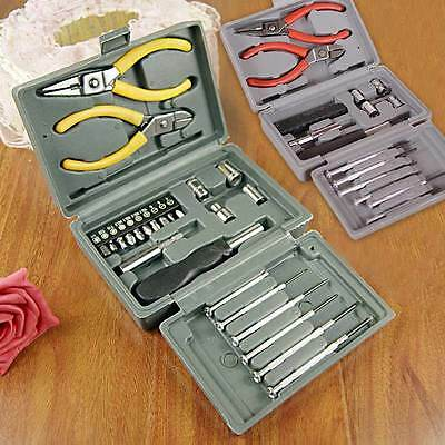 24pcs/Set Multifunctional Household Hardware Tools Combination Tool Kit Random