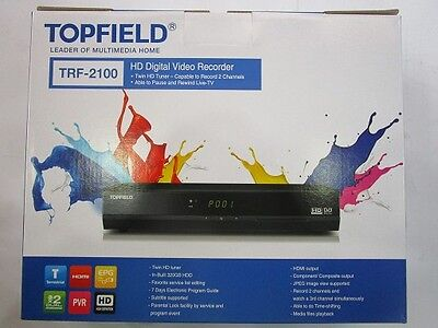 320GB Digital Video Recorder - Topfield (still in the box)TRF-2100