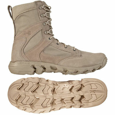 Under Armour Alegent Men's Tactical Boots Desert Sand  TACTICAL ARMY POLICE
