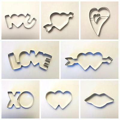 Love Wedding Biscuit Cookie Cutter Hearts Valentine Day Party Baking mould